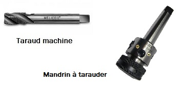 Taraud machine.